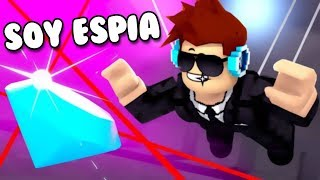 WE TRAIN TO BE SPIAS Roblox Spy Training Obby Roblox in Spanish
