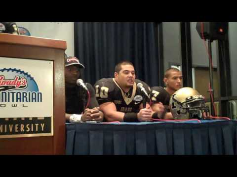 Humanitarian Bowl postgame press conference Part 2
