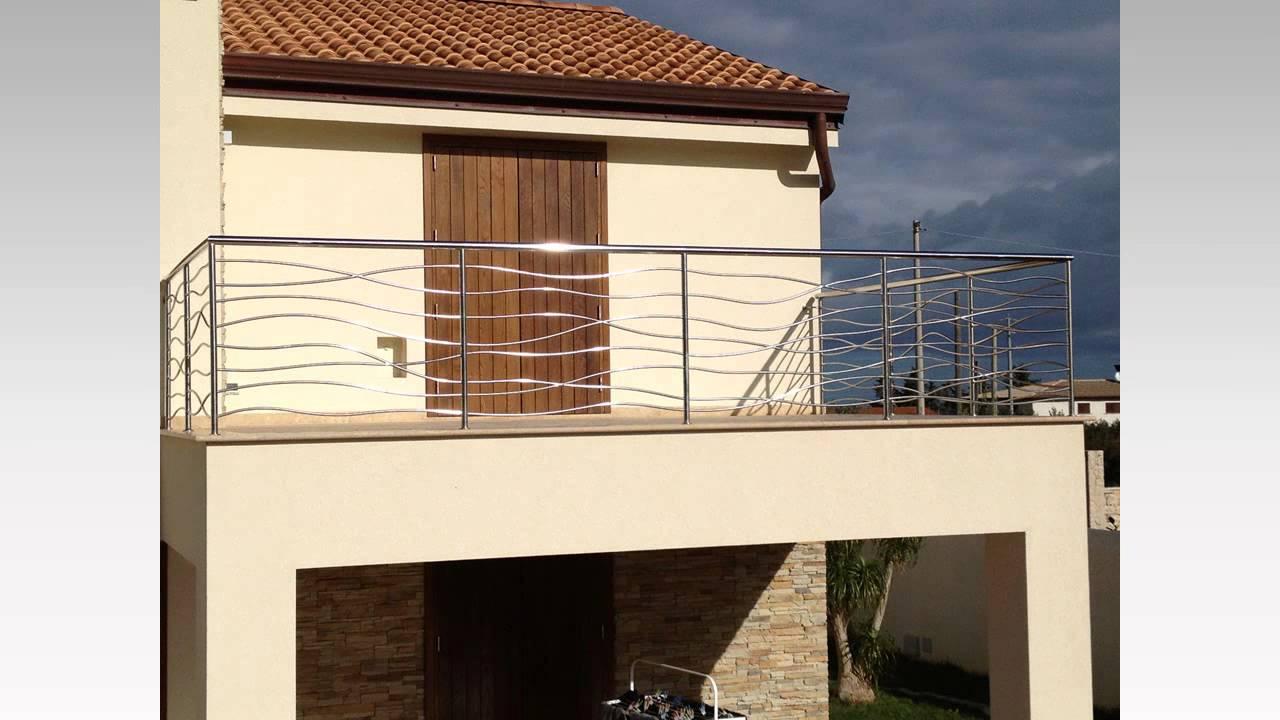Ringhiere balconi, cancelli e protezioni esterne in Acciaio inox ...