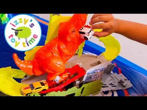 Hot Wheels Cars for Kids | Hot Wheels Pooping Dinosaur! Fun Videos for Kids and Children