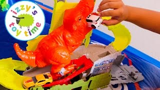 hot wheels cars for kids   hot wheels pooping dinosaur fun videos for kids and children