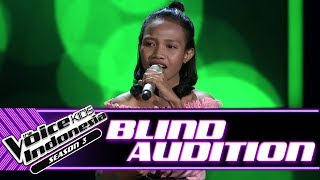 Yera - I Will Always Love You | Blind Auditions | The Voice Kids Indonesia Season 3 GTV 2018