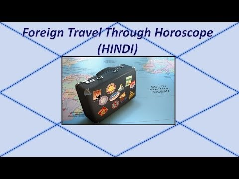 Foreign Travel & Settlememts Through Horoscope- HINDI - YouTube