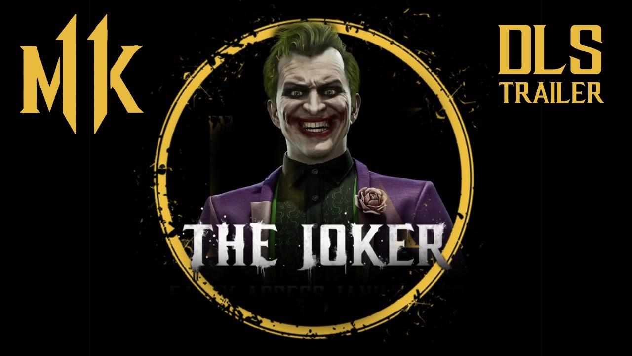 Mortal Kombat 11. The Joker Official Gameplay Trailer