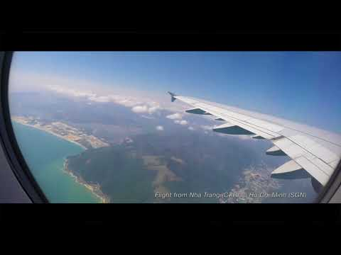 Flight from Ho Chi Minh to Nha Trang, Vietnam Airlines