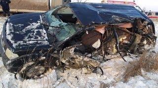 Дорожный беспредел. Аварии Январь 2014 ❶❷❹ Compilation of accidents January 2014