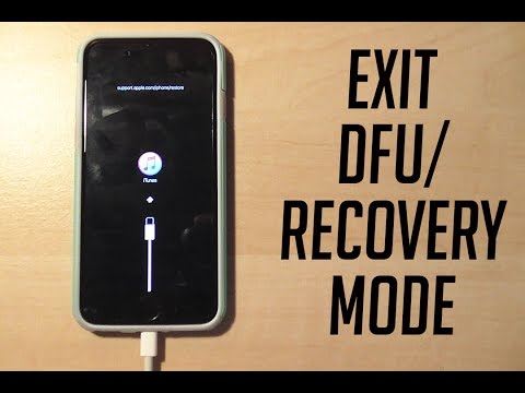 DFU and Recovery mode explained - How to enter and exit them WORKING