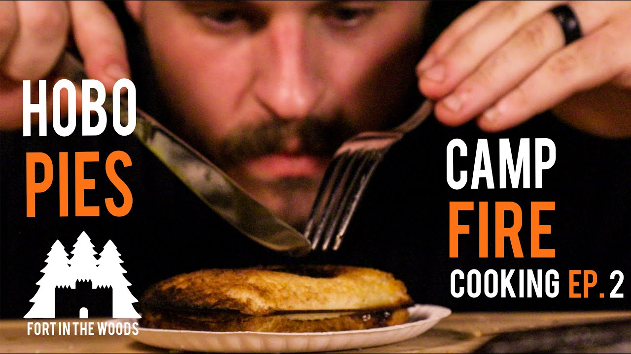 Camp Fire Cooking Ep. 2 Hobo Pies | Fort In The Woods |FITW