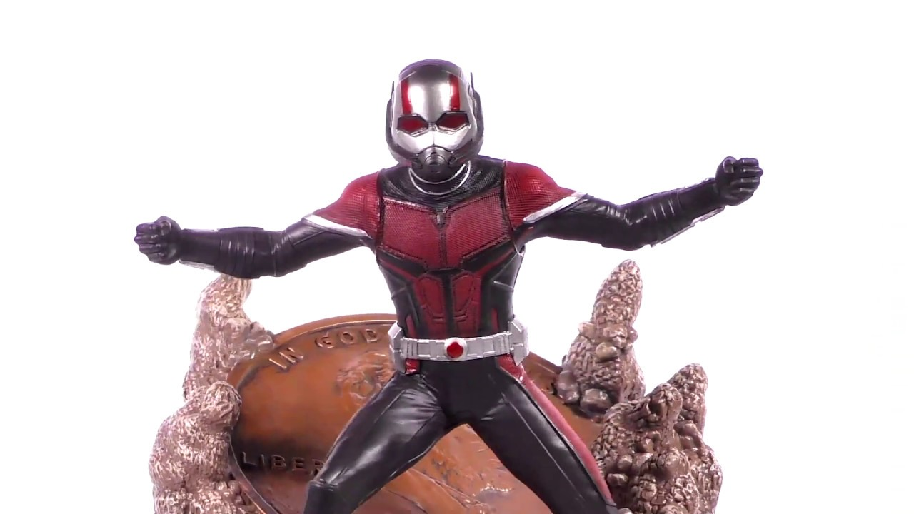 Marvel Movie Gallery Ant-Man PVC Diorama Unboxing + 360