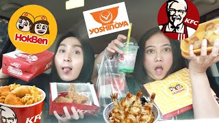 PART 2 | Let the person in front of me decide what i eat for a day | INDONESIA