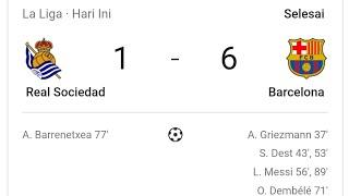 Real Sociedad Vs Barcelona | 1-6 Highlights & All Goals 2021