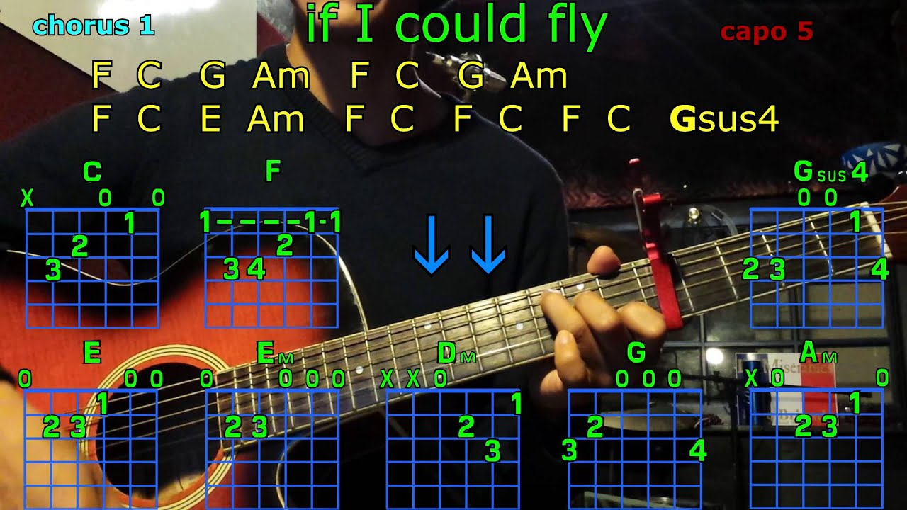 If i could fly one direction guitar chords youtube if i could fly one direction guitar chords hexwebz Image collections