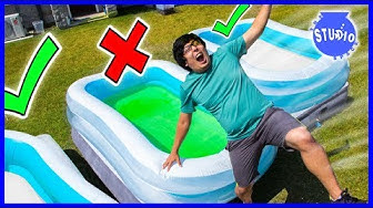 DONT Trust Fall Into Wrong Pool Challenge!
