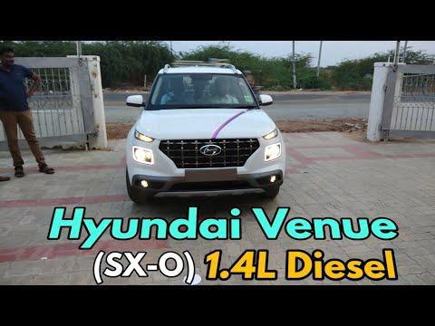 2019 Hyundai VENUE (SX-O) 1.4 litre U2 diesel with 6mt model interior & Exterior, specification