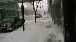 Winter Storm, January 24 2010 - Regina, Saskatchewan