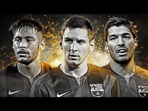 NeymarSuarezMessi/NSM/New attack Of FC Barcelona