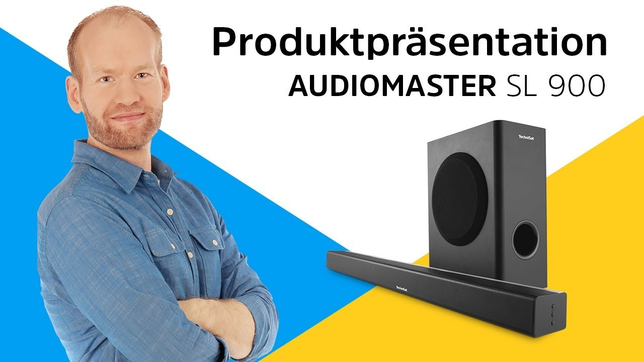 Video: AUDIOMASTER SL 900 | Dieses Soundsystem rockt das Wohnzimmer. | TechniSat