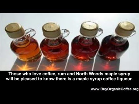 Maple Syrup Coffee Liqueur