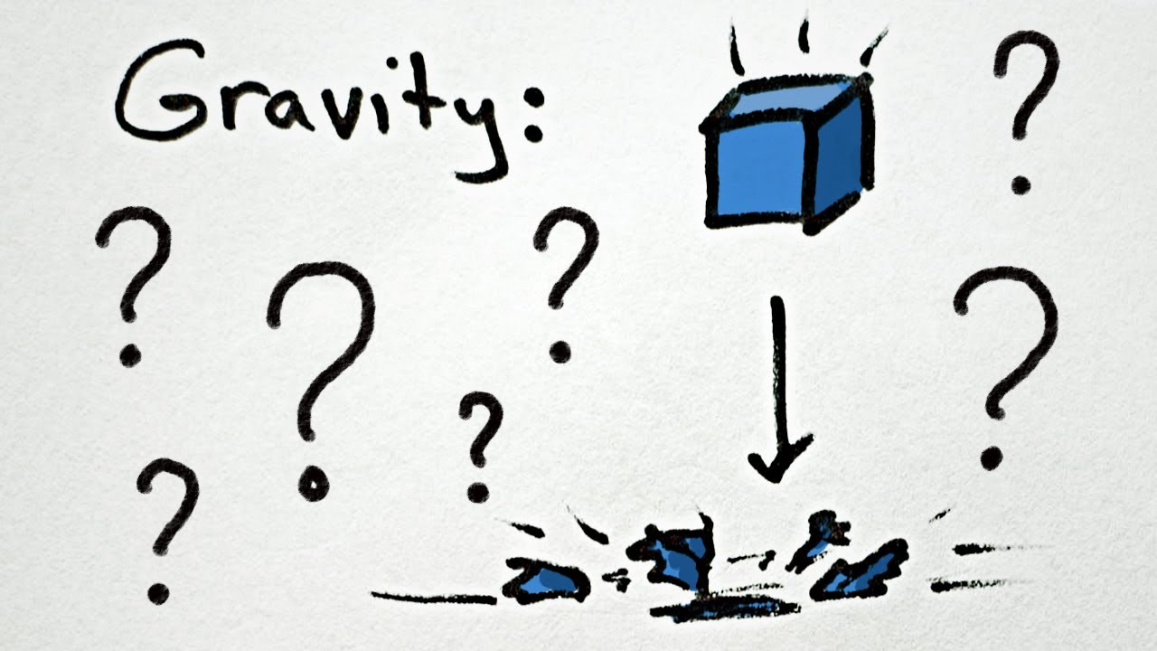 Minute physics what is gravity youtube