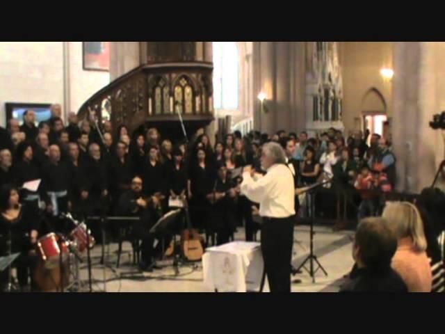 Misa Criolla - Gloria - Coro Sadaic, Coral de las Americas, Coro Quilmes, Grupo GIA