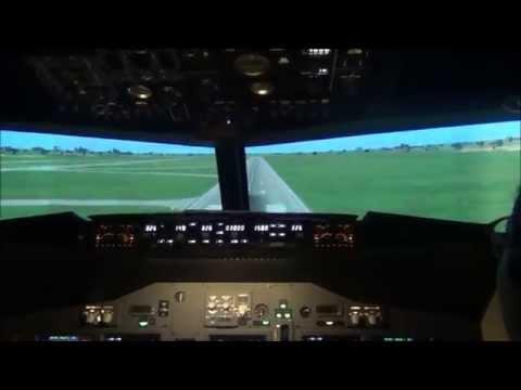 Me Flying A Plane At SKY SIMULATOR @ E-CURVE