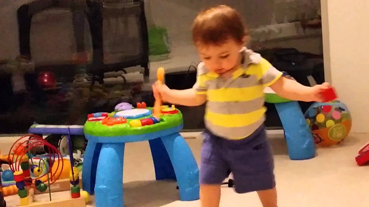 Jonah Playing With His Toys 12 Months Old Youtube