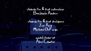 Adventure Time - Islands Part 5   End Credits (English) (HD)