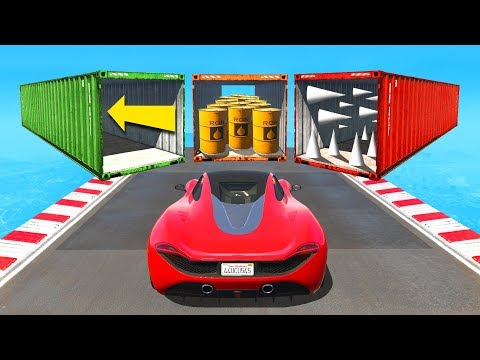 Choose The Right Container Or FAIL! - GTA 5 Funny Moments
