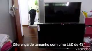 Smart TV LED 48 Samsung 4k UN48JU6500GXZD Unboxing