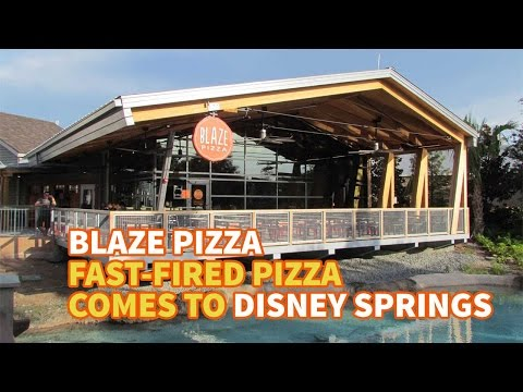 Blaze Pizza means more affordable options at Disney Springs