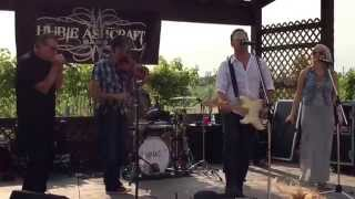 Hubie Ashcraft Band performing Johnny Cash