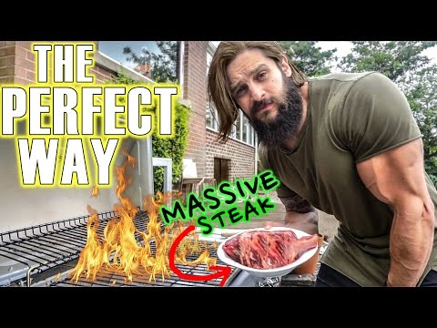 STEAKS & GAINS - How To Cook A Perfect Tomahawk | HIGH VOLUME TRAINING CHEST, TRICEPS, ABS
