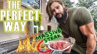 steaks gains how to cook a perfect tomahawk   high volume training chest triceps abs