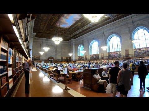 ⁴ᴷ Walking Tour of The New York Public Library Main Branch (Stephen A. Schwarzman Building)