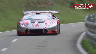 MAXIMUM ATTACK at fastest Swiss Hillclimb St-Ursanne - Les Rangiers 2017