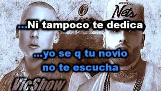 Karaoke - Nicky jam ft Cosculluela - Te Busco