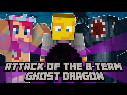 Minecraft - Attack Of The B Team - Ghost Dragon! [59]