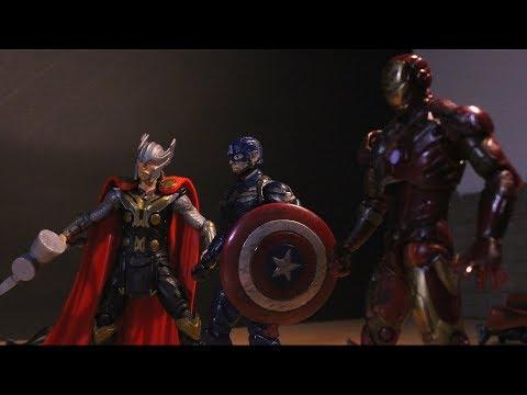 Avengers: Infinity War - Part 3 (Stop Motion Film)