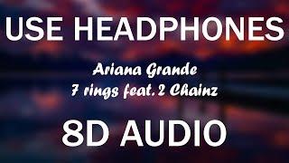 Ariana Grande - 7 rings remix (8D AUDIO) (feat 2 Chainz) Video