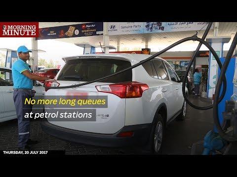 No more long queues at petrol stations