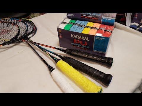 Badmintonschläger Gadgets und Upgrades