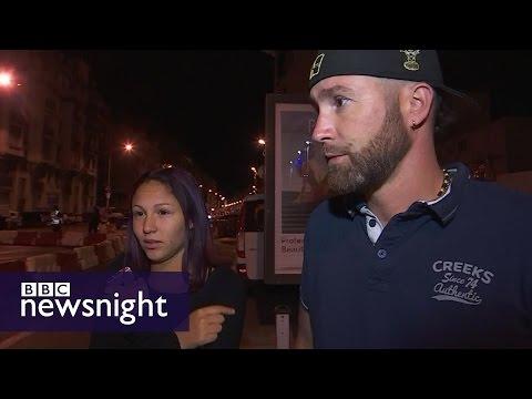 Nice attack: Eyewitness accounts - BBC Newsnight