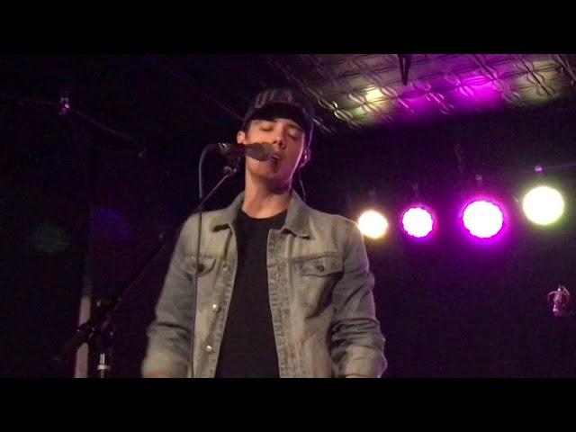 "Leroy Sanchez - ""Too Good At Goodbyes"" Live (Elevated Tour, Denver 2017)"