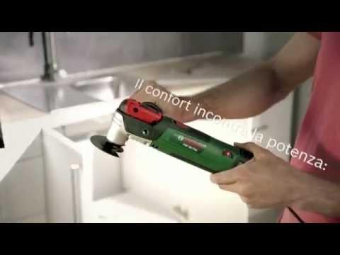 Bosch pmf utensile multifunzione youtube