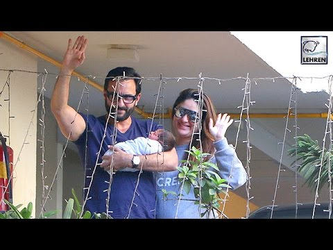 Kareena Kapoor DISCHARGED From Hospital | Taimur Ali Khan | LehrenTV