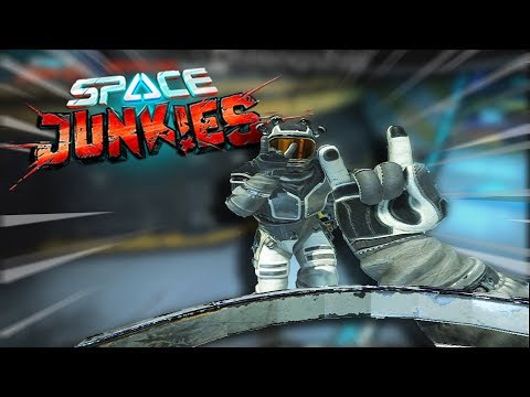 VIRTUAL REALITY AT ITS BEST • SPACE JUNKIES VR GAMEPLAY