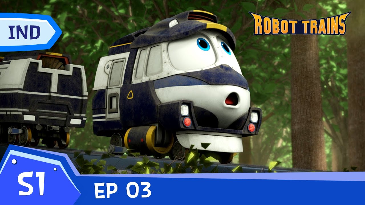 Robot Trains | #03 | Lost Memories | Episode penuh | Bahasa Indonesia | animasi untuk anak-anak