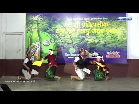 Bhujung Yajamro Group Dance  Lwang Village Chaite Dashain Mela 2019