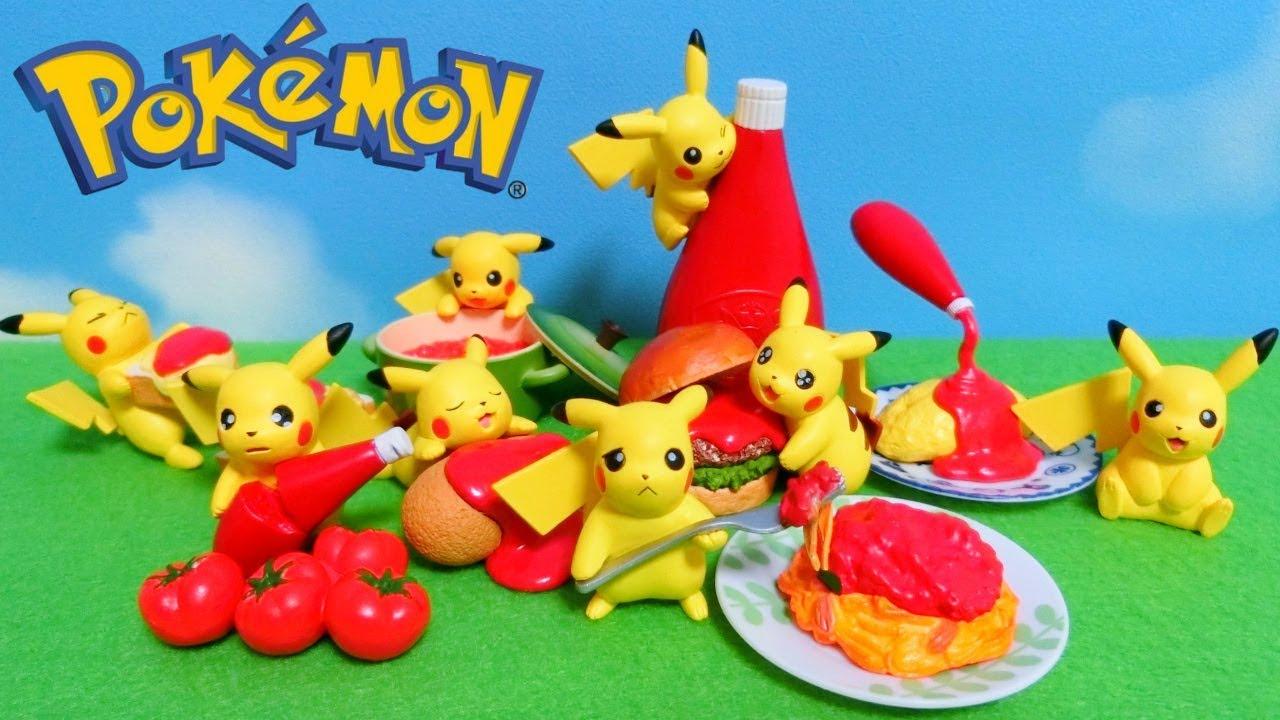 Re-Ment Pikachu Loves Ketchup Full Set Unboxing - Japanese Pokemon Toys -  YouTube
