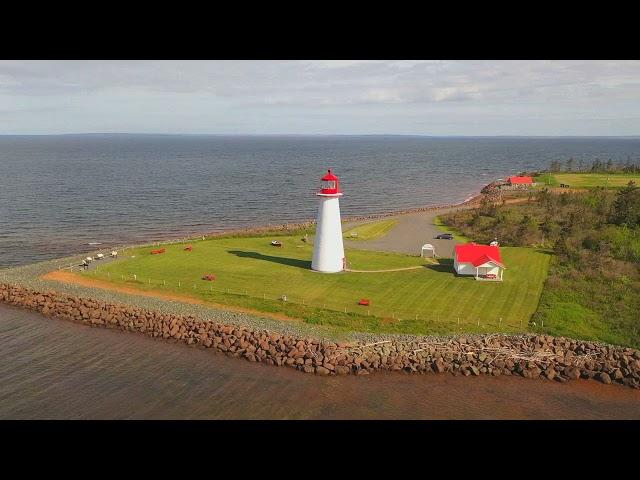 Incredibly beautiful aerial video of Prince Edward Island